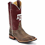 Nocona Boots Men's Texas A&M Embroidered Color Tops CollegeBoots™