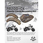 Baja® MB200-CK Plastic Realtree AP Camo Accessory Kit