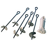 ShelterLogic 15 in. Auger Anchors, Set of 6