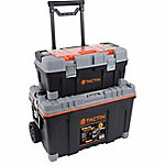 Tactix 2-in-1 Rolling Tool Box