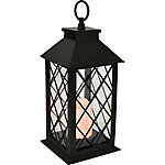 Brinkmann Bronze Battery Operated Table Lantern, 5-1/2 in. x 5-1/2 in. x 11-2/5 in.