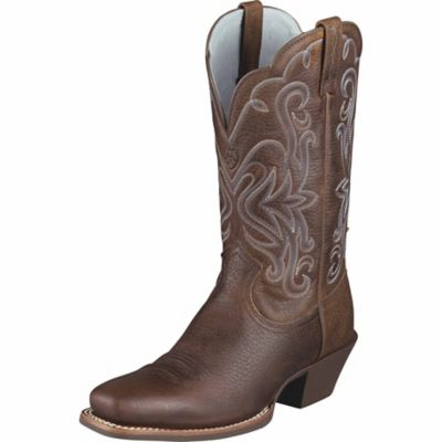 ariat legend western boot rowdy brown for