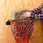 Tough-1 Hay Hoops Collapsible Wall Hay Feeder, Black