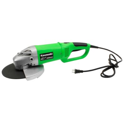Kawasaki 15A Angle Grinder Kit, 7/9 in. Wheel Diameter