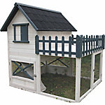 Advantek Balcony Poultry Hutch, CA Prop 65 Compliant
