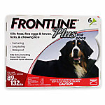 Frontline Plus Flea & Tick for Dogs, 89 to 132 lb., 6 Month