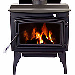 Pleasant Hearth Medium Stove, 1,800 sq. ft. Coverage