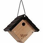 Nature's Way Cedar Traditional Wren House, 8-7/8 in. x 8-1/8 in. x 8 in.