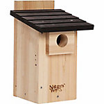 Nature's Way Cedar Bluebird Viewing House, 7-1/2 in. x 8-1/8 in. x 12 in.