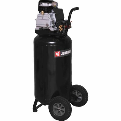 JobSmart® 1-1/2 HP (Running) 26 Gallon Oil Lubricated Vertical Air Compressor