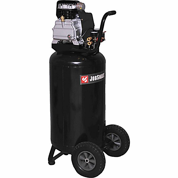 JobSmart? 1-1/2 HP (Running) 26 Gallon Oil Lubricated Vertical Air Compressor