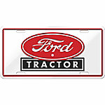 Chroma Ford Tractor Stamped Tag, CA Prop 65 Compliant