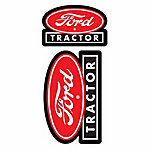 Chroma Ford Tractor Stick Onz Decal