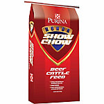 Purina Honor Show Chow Fitter's Edge DX Cattle Feed, 50 lb.
