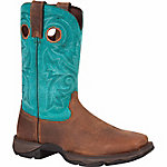 Durango Women's 10 in. Lady Rebel Bar None Steel Toe Boot