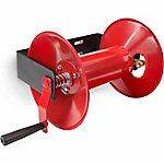 TEKTON Hand Crank Air Hose Reel, 100 ft. Capacity, Red
