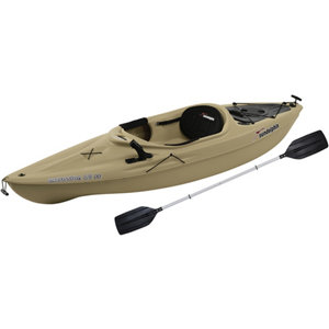Sun dolphin excursion 10 ft ss fishing kayak with paddle for 10 ft sun dolphin fishing kayak