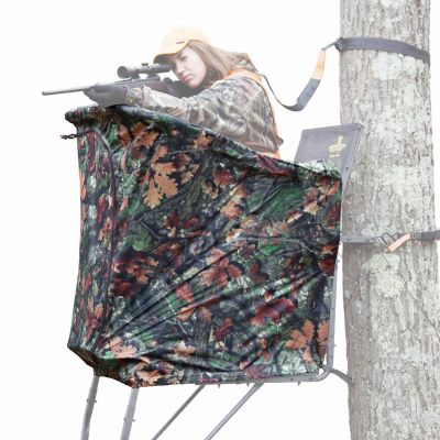 Rivers Edge RE769 Uppercut and Oasis Ladder Stand Curtain
