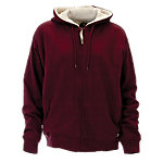 Berne® Ladies' Insulated Sherpa-Lined Zip-Front Hooded Fleece Sweatshirt