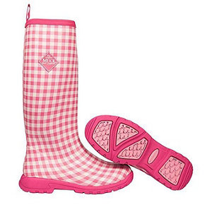 The Original Muck Boot Company Women&39s The Pink Gingham Breezy