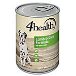 4health™ Lamb & Rice Formula Dog Food, 13.2 oz.