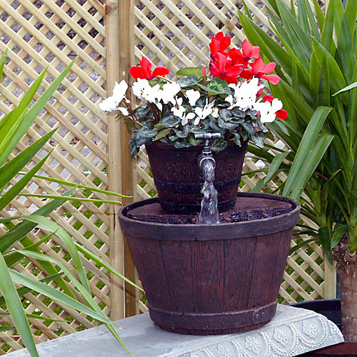 Outdoor fountain planter - Tractor Supply Co.