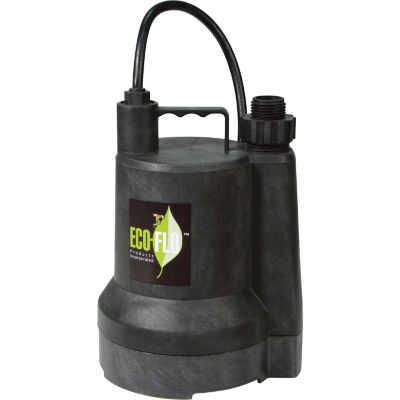 eco flo sup55 submersible utility pump at tractor supply co. Black Bedroom Furniture Sets. Home Design Ideas
