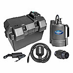 Superior Pump 12 Volt Submersible Emergency Backup Sump Pump System