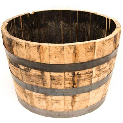 Half Oak Whiskey Barrel Planter At Tractor Supply Co