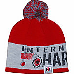 International Harvester Toddler IH Red Pom Pom Beanie