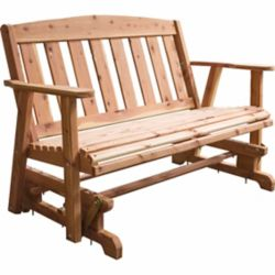Shop Amerihome Usa Amish Made Glider Bench At Tractor Supply Co