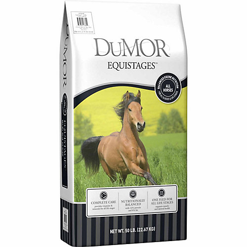 DuMOR Equistages Horse Feed