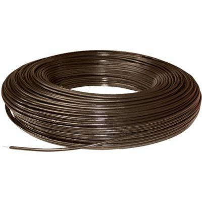 Polyplus Coated Non Electric 12 5 Gauge Wire Fence 1 320