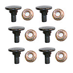 Disc Mower Bolt, OEM CC19929K, Pack of 6
