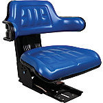 Universal Tractor Seat with Adjustable Suspension, Blue
