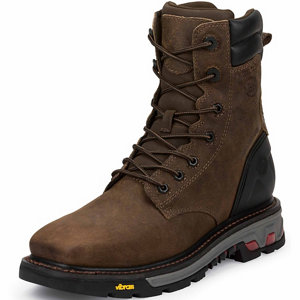 Justin Original Work Boots Men S Tobacco Commander X5