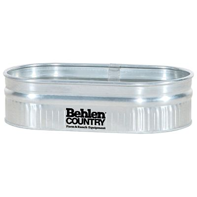behlen country 2 1 4 galvanized round end sheep stock tank. Black Bedroom Furniture Sets. Home Design Ideas