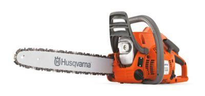 Husqvarna vs stihl gas chainsaw