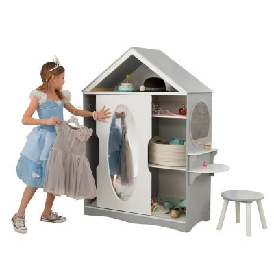 Kidkraft Dress Up Armoire And Vanity 13040 At Tractor