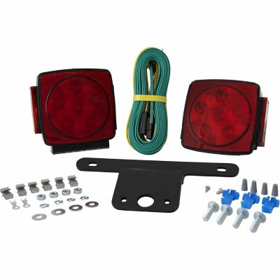 wiring led lights in a home blazer led submersible trailer light kit for trailers ...