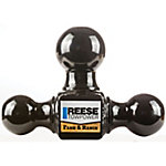 Reese Towpower Towing Tri-Ball Ball Mount, 1-7/8 in., 2 in., and 2-5/16 in. Hitch Balls