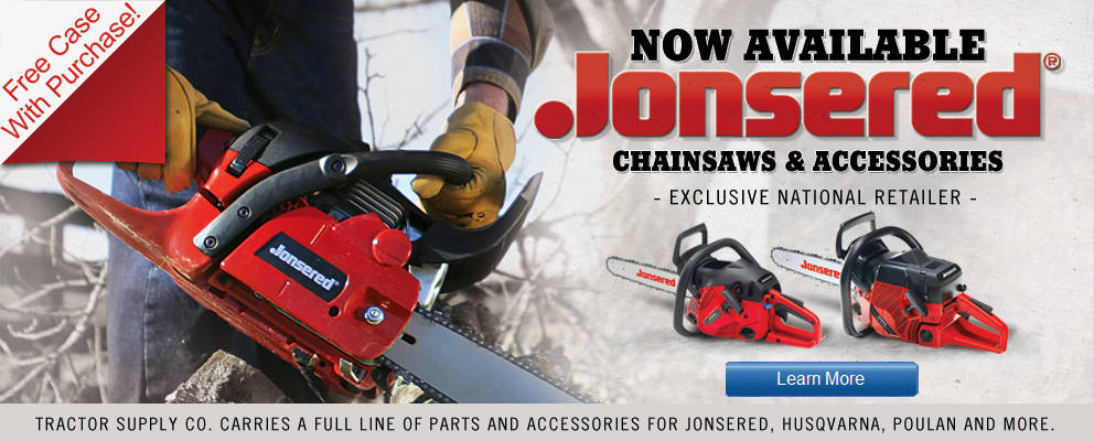 Jonsered Professional Chainsaws - Tractor Supply Co.