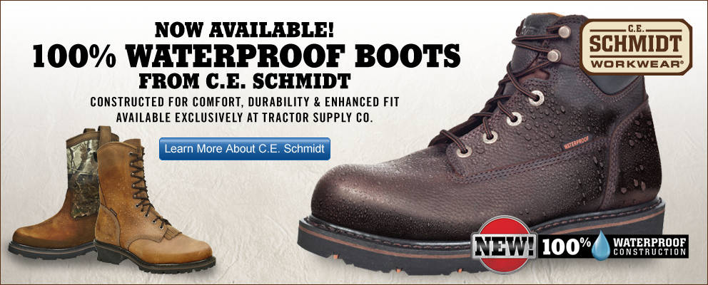 Waterproof Boots by CE Schmidt - Tractor Supply Co.