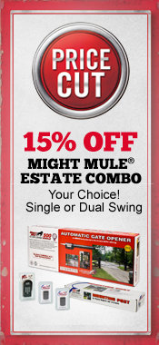 15% Off Mighty Mule Estate Combo Gate Openersl - Tractor Supply Co.