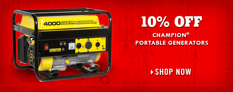 Shop Champion Generators at Tractor Supply Co.