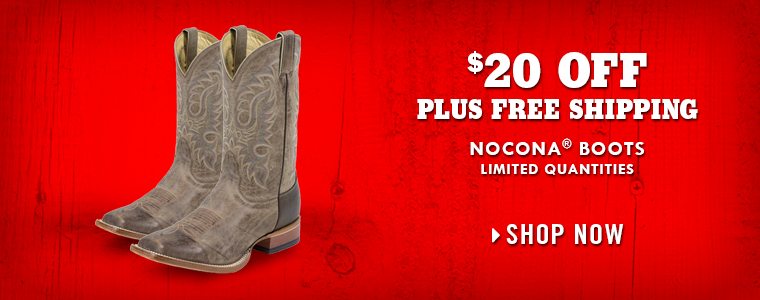 Shop Nocona Boots at Tractor Supply Co.