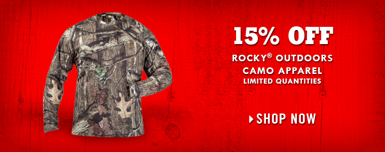 Shop Rocky Camo Apparel at Tractor Supply Co.