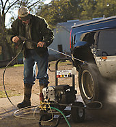 Selecting A Pressure Washer