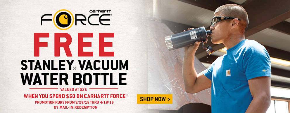 Free Stanley Vaccuum Water Bottle - Tractor Supply Co.