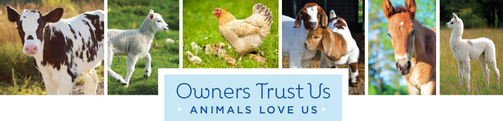 Owners Trust Us - Animals Love Us